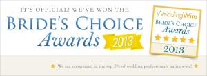 wedding wire brides choice award 2013 event elements