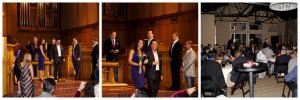 Summer & Paul Rehearsal Fort Worth WeddingCollage